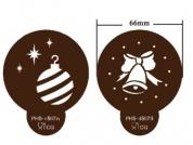 Stencil Motivos Natal 2 Modelos