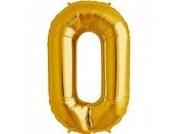 Balão Dourado nº 0 (87cm)