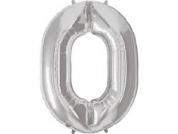 Balão Prata nº 0 (87cm)