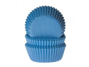 Forminhas Cupcakes Azul 24 Uni House Of Cakes
