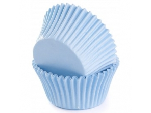 Forminhas Cupcakes Azul Bebe 24 Uni House Of Cakes