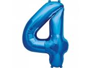 Balão Azul  nº 4 (87cm)