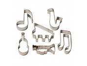Conjunto 6 cortadores música