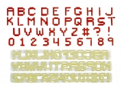 Cortadores Letras e Números Pixel FMM