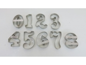 Cortadores Números Gigantes 12 cm