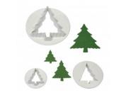 Cortadores Árvores de Natal Cj. 4