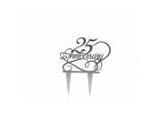 Topper 25º Birthday