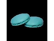 Caixa Macarons Azul Turquesa